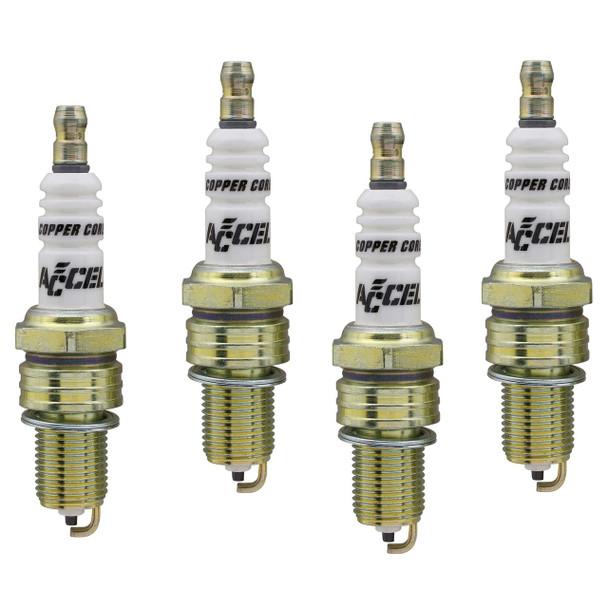 ACCEL 0114-4 U-Groove Standard; Spark Plug