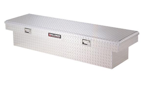 Deflecta-Shield Aluminum 5499 Challenger Single Lid Crossover Storage Box
