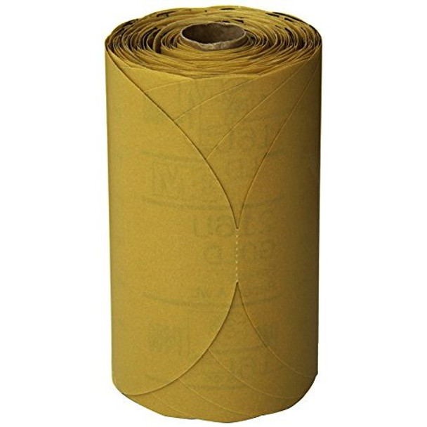 """3M 01434 Stikit Gold 6"""" P400A Grit Disc Roll"""