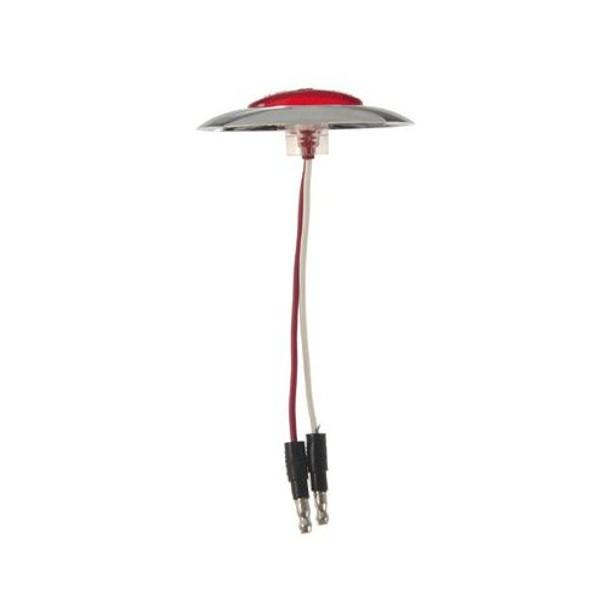 Grote 47952 MicroNova LED Clearance Marker Light (Chrome Bezel)