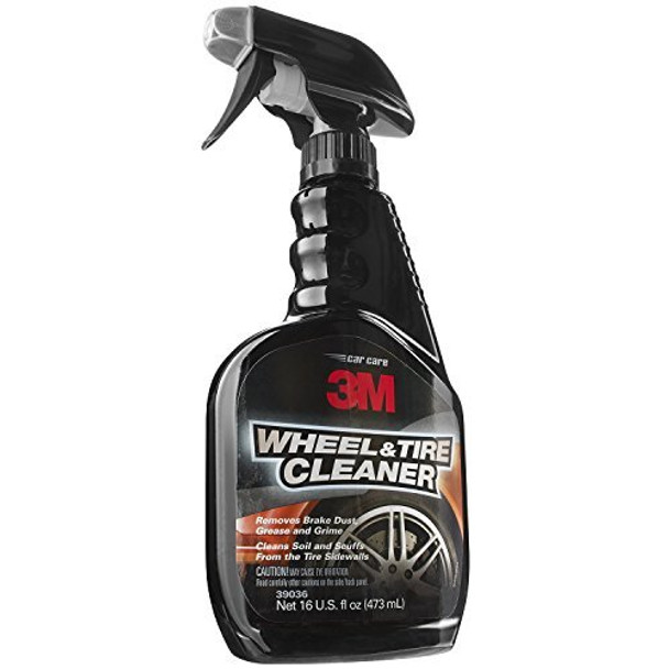 3M 39036 Wheel and Tire Cleaner - 16 oz, Pack of 1