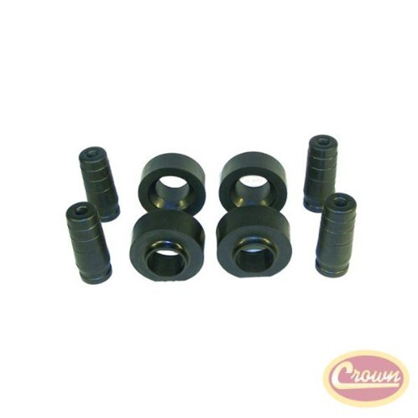 2 Budget Spacer Lift Kit for 97-06 Jeep Wrangler - Crown# RT21028