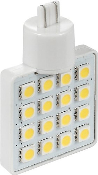 Green LongLife 5050190 LED Replacement Bulb 921 Wedge Base 200 LUM 12 or 24v Natural White
