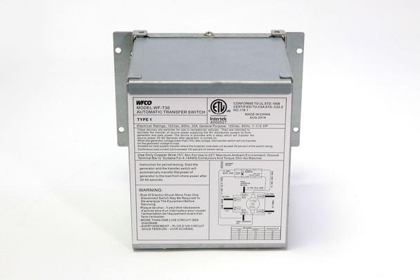 30Amp Transfer Switch Wal T-30-Wm Cheng Usa, Inc.