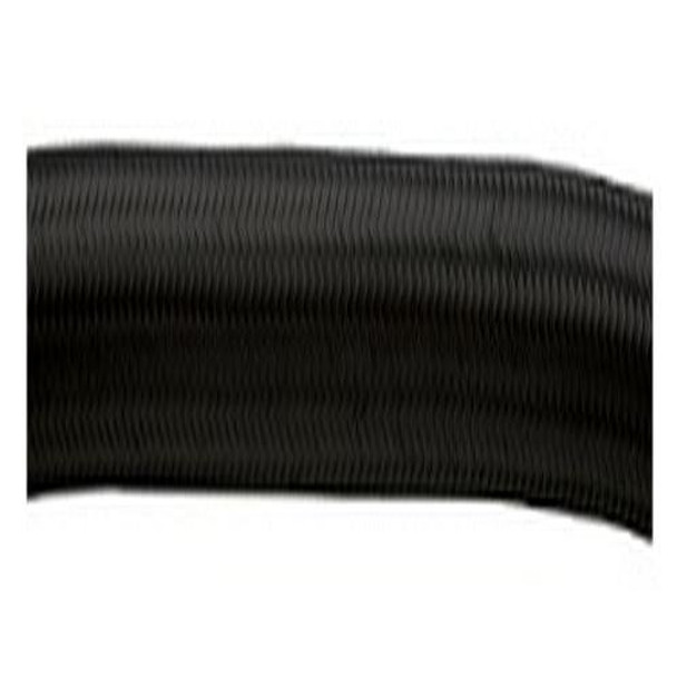 10FT ROLL OF BLACK NYLON FLEX HOSE