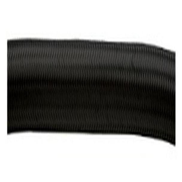 10FT ROLL OF BLACK NYLON FLEX HOSE