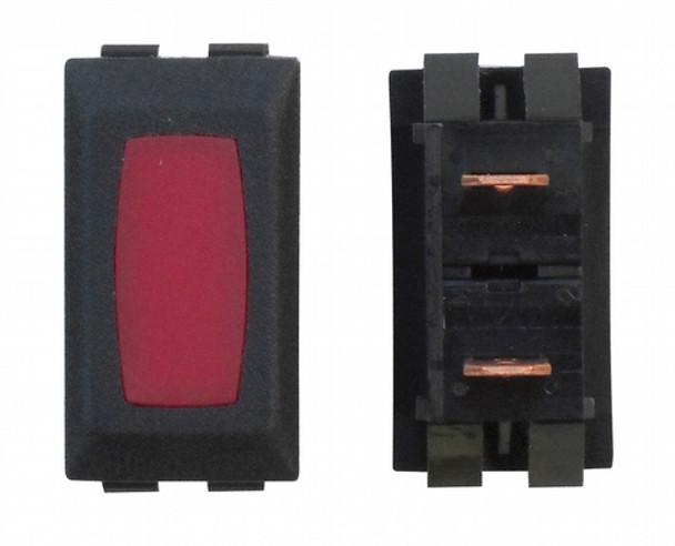 Diamond Group 12V Ivory W/Red Indctr 2P ZU-09-14