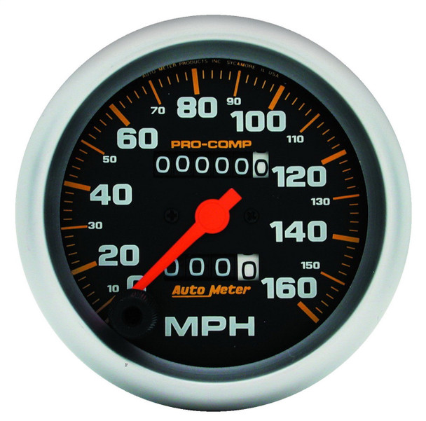 AutoMeter 5153 Pro-Comp Mechanical In-Dash Speedometer