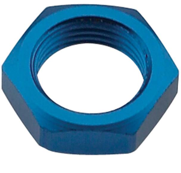 FRAGOLA Blue Aluminum 10 AN Bulkhead Fitting Nut P/N 492410
