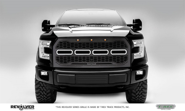 T-Rex Grilles 6515771 Revolver Series Grille Fits 15-17 F-150