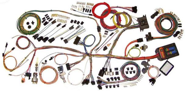 American Autowire Wiring System Nova 1962-67 Kit P/N 510140