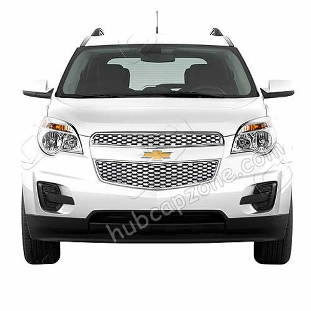 2012 - 2013 - 2014 Chevy Equinox Triple Chrome Plated ABS Grille.
