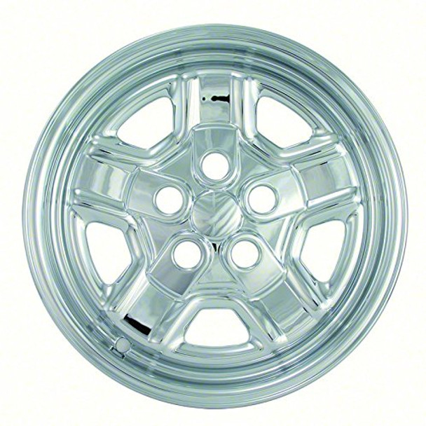 2007-2012 Fits Jeep Patriot 16 Chrome Wheel Skins