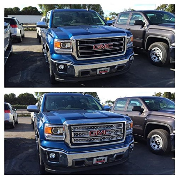 2014 Chevy Silverado Triple Chrome Plated ABS Grille