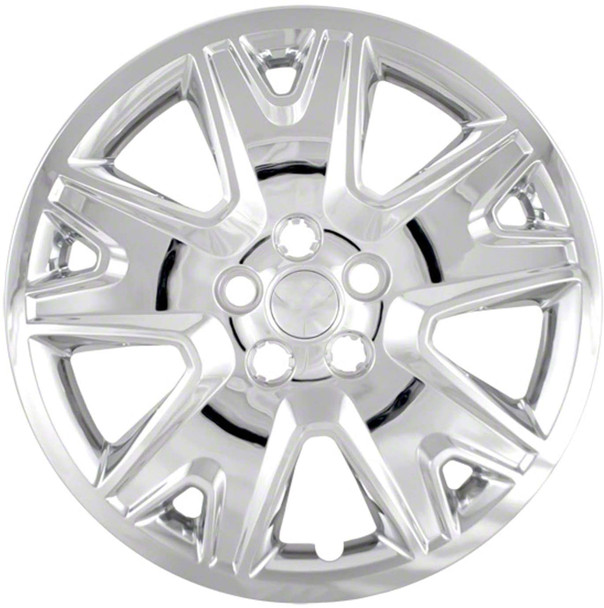 '13 14 Ford Escape S 17 Chrome Upgrade Replacement Hubcaps 471-17C New Set of 4