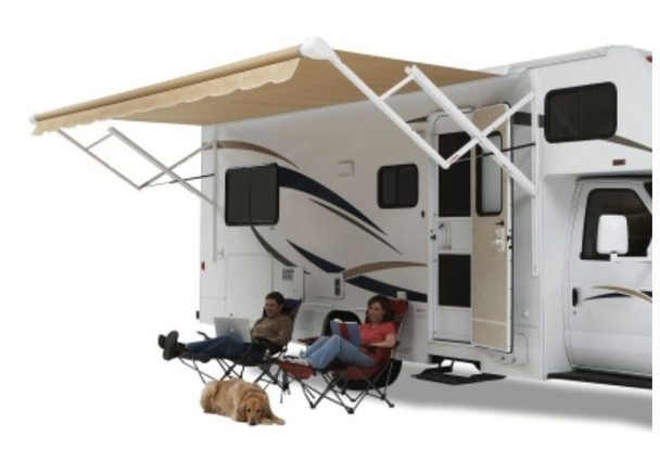 14' White Sprgless Roller Qj140000 Carefree Of Colorado