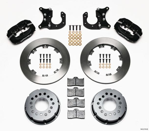 WILWOOD Dynalite 4 Piston Caliper Rear Brake System Big Ford P/N 140-2118-B