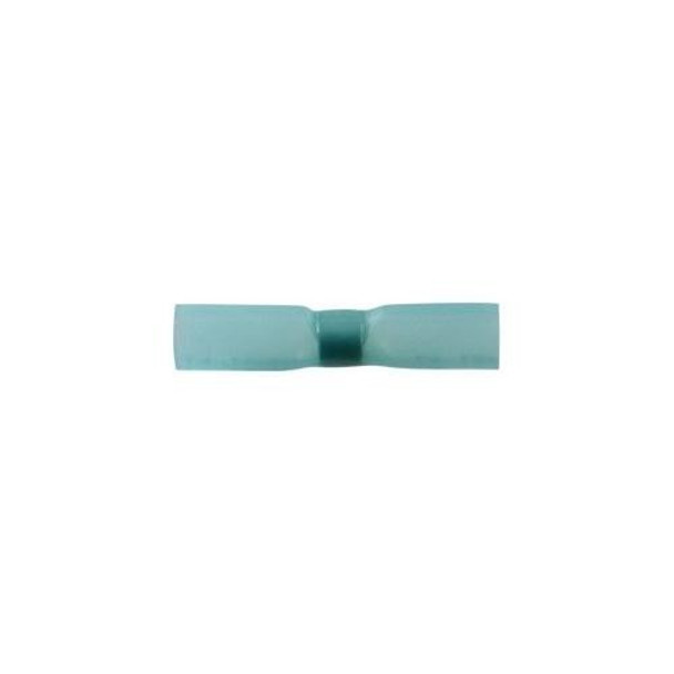 16-14 AWG SS HEAT SHRINK BUTT CONNECTOR - BLUE 5 P