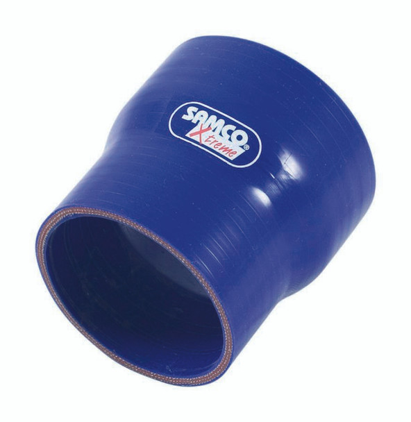 SAMCO SPORT Blue Silicone 3 in to 2 in Coupler P/N XSR76-51BLUE