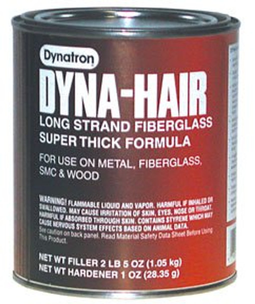 3M (472) Dyna-Hair Long Strand, 472, 1 Quart (US), 12 per case [You are purchasing the Min order quantity