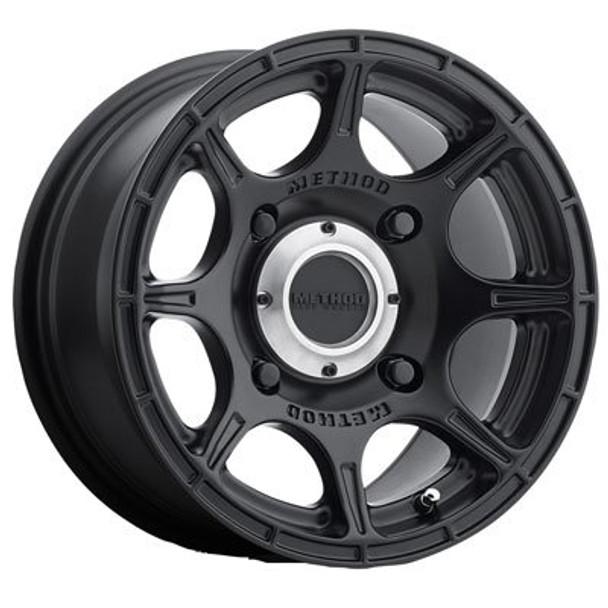4/156 Method Race Wheels Roost Wheel 14x7 5.0 + 2.0 Matte Black - Fits: Polaris RANGER RZR XP 1000 2014-2018
