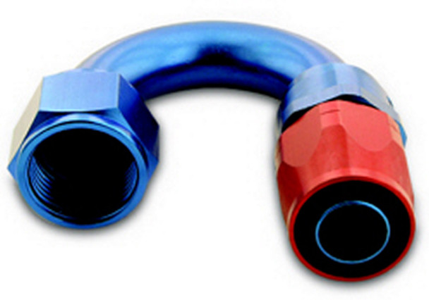 A-1 Products 180 Degree 8 AN Hose to 8 AN Female 200 Series Hose End P/N 01808