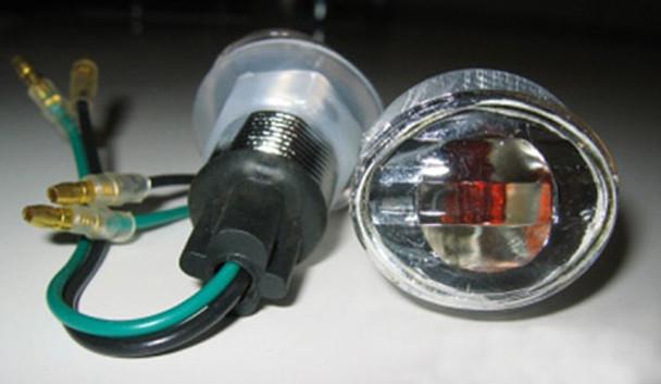 K&S Marker Lights, Flat Oval, Mini(S/F) Rainbow Pn 25-8282