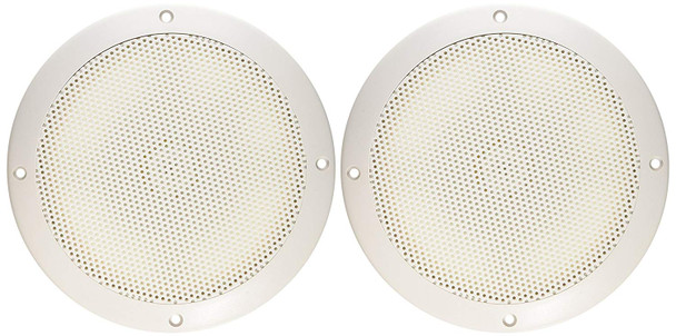 1PR 6 SPEAKERS WHITE