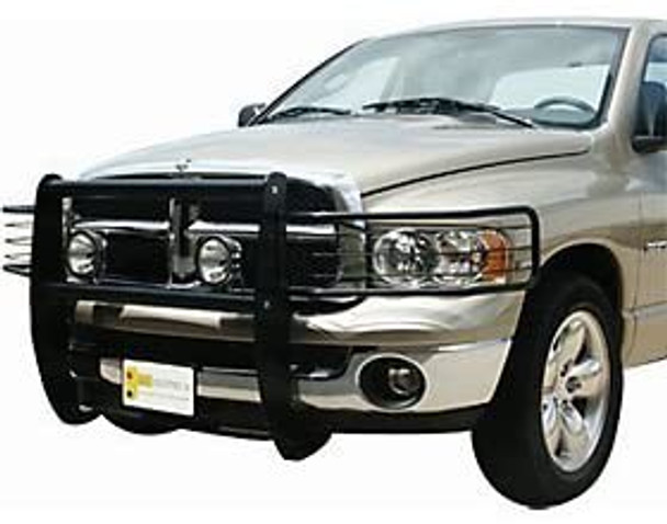 07-12 CHEVY SILVERADO 1500 BLACK KNOCKDOWN GRILLE GUARD