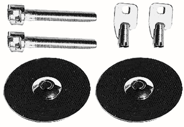 Trans-Dapt Performance Products 4062 Hood Lock Set