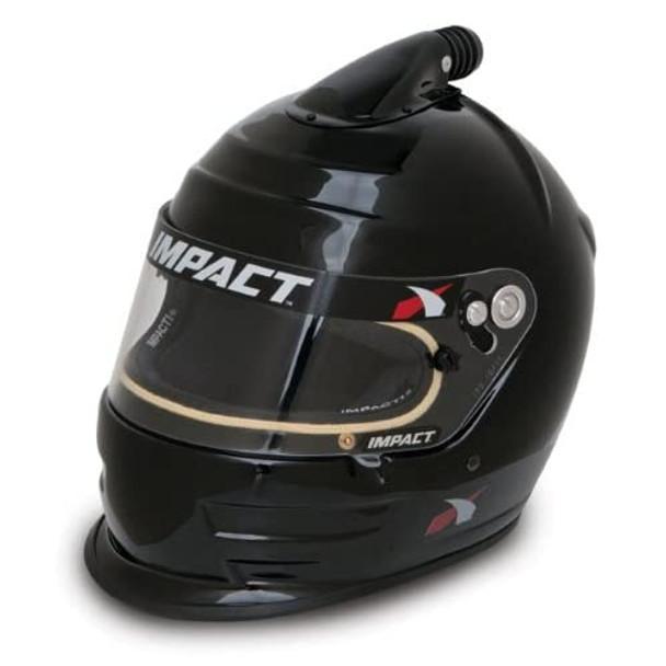 IMPACT RACING Black X-Large Snell SA 2010 Air Vapor Helmet P/N 16099610