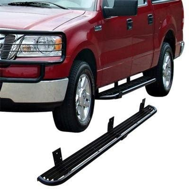04-13 FORD F150 (NO HERITAGE) SUPERCAB RANCHER RUGGED STEP-BLACK