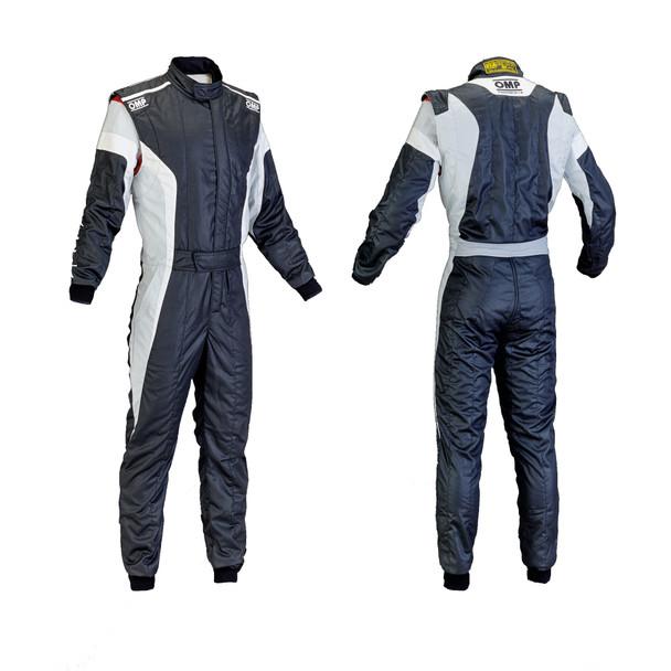 OMP Racing TECNICA-S Black White Grey Size 54 PN IA0185007654