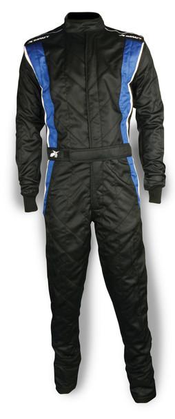 Impact Racing Suit Phenom Medium Black / Blue PN 25215406