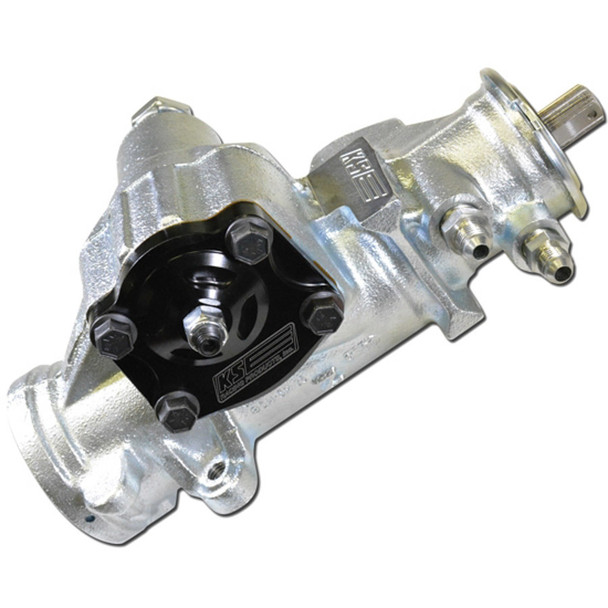 K.S.E. Racing 700 Series Steering Box 6:1 .185 Valve 3/4-30 PN KSG7062-185