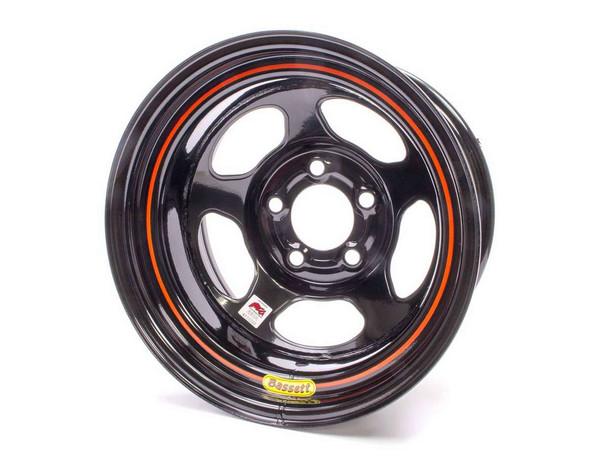 BASSETT Inertia Advantage 15x8 in 5x4.75 Black Wheel P/N 58AC3I