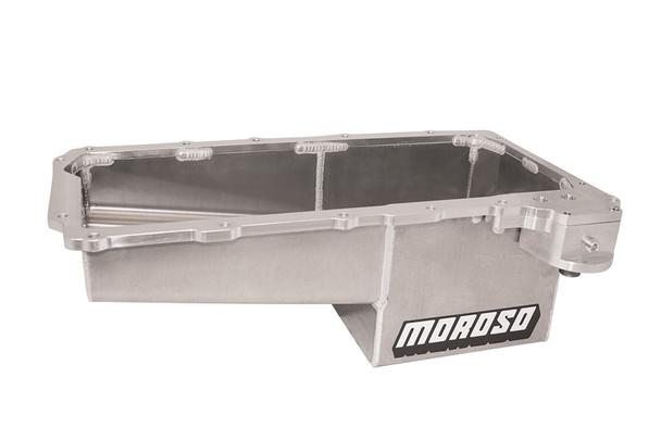 Moroso 7qt Oil Pan - GM LS Drag Race/COPO Camaro 16-Up PN 21157