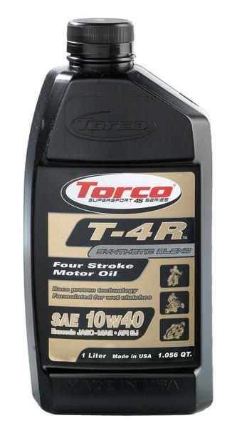 TORCO 10W40 Semi-Synthetic T-4R Motor Oil 1 L P/N T671044CE