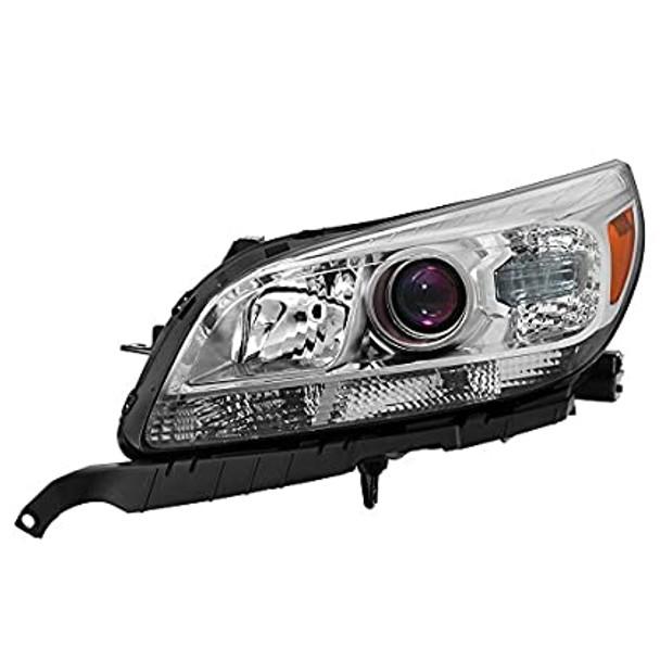(Not fit LS) Chevy Malibu 2013-15 Projector Headlights - Halogen LT, LTZ Model -(Driver Side) Left Side
