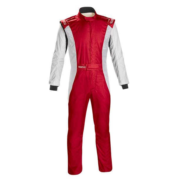 Sparco Comp Suit Red/White Medium P/N 001128Sfb52Rsbn