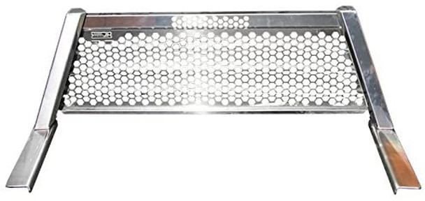 Highway Products Inc Highway Products Honeycomb Aluminum Headache Rack (Silver) 4030-049