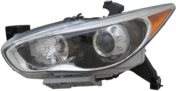 TYC 20-9772-00-1 Compatible with Infiniti Replacement Front_Left Head Lamp