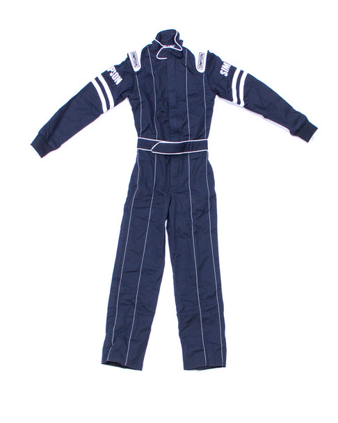SIMPSON SAFETY Black/White Youth SM Legend ll 1 Piece Driving Suit P/N LY22171