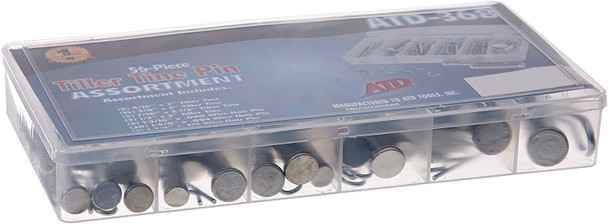 ATD Advanced Tool Design 56 Piece Tiller Tine Pin Assortment #ATD-368