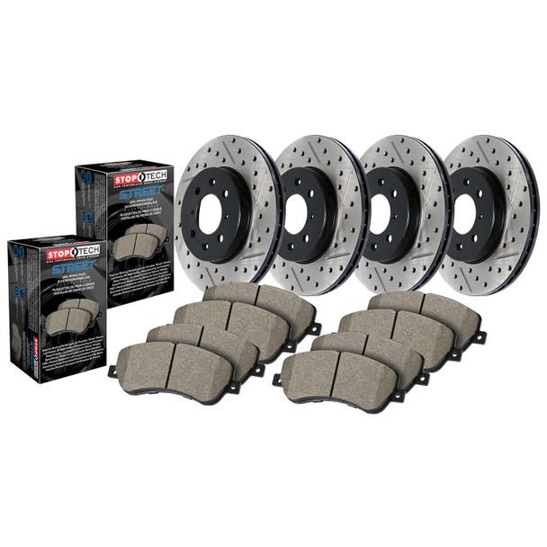 StopTech 935.33055 Street Axle Pack Fits 04-06 Golf TT Quattro