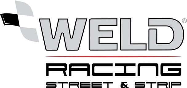 Weld Racing Weld Racing 71MB7105B83A 17X10.5 S71 Blk Ctr 5X4.75 8.3BS(65mm O/S) Med 71MB7105B83A