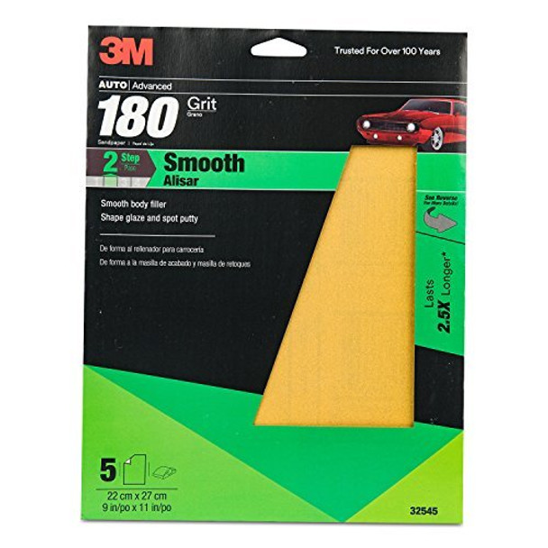 3M Production Resinite Gold Sheet, 32545, 9 in x 11 in, 180