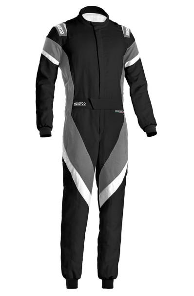 SPARCO Suit Victory Black /Gray Large / X-Large PN 001135H58NGBO