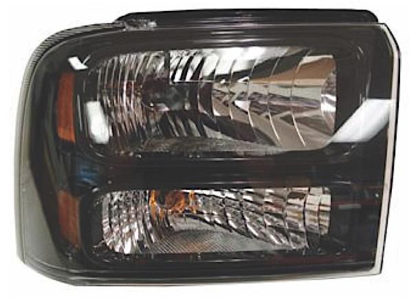 Right Hand Headlamp Combination Type Fits Ford Superduty P/U W/ Harley Davidson 05-07 (C)