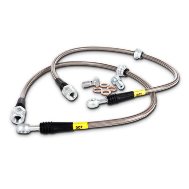 StopTech 977.47009 StopTech Sport Brake Kit Fits 08-12 Impreza